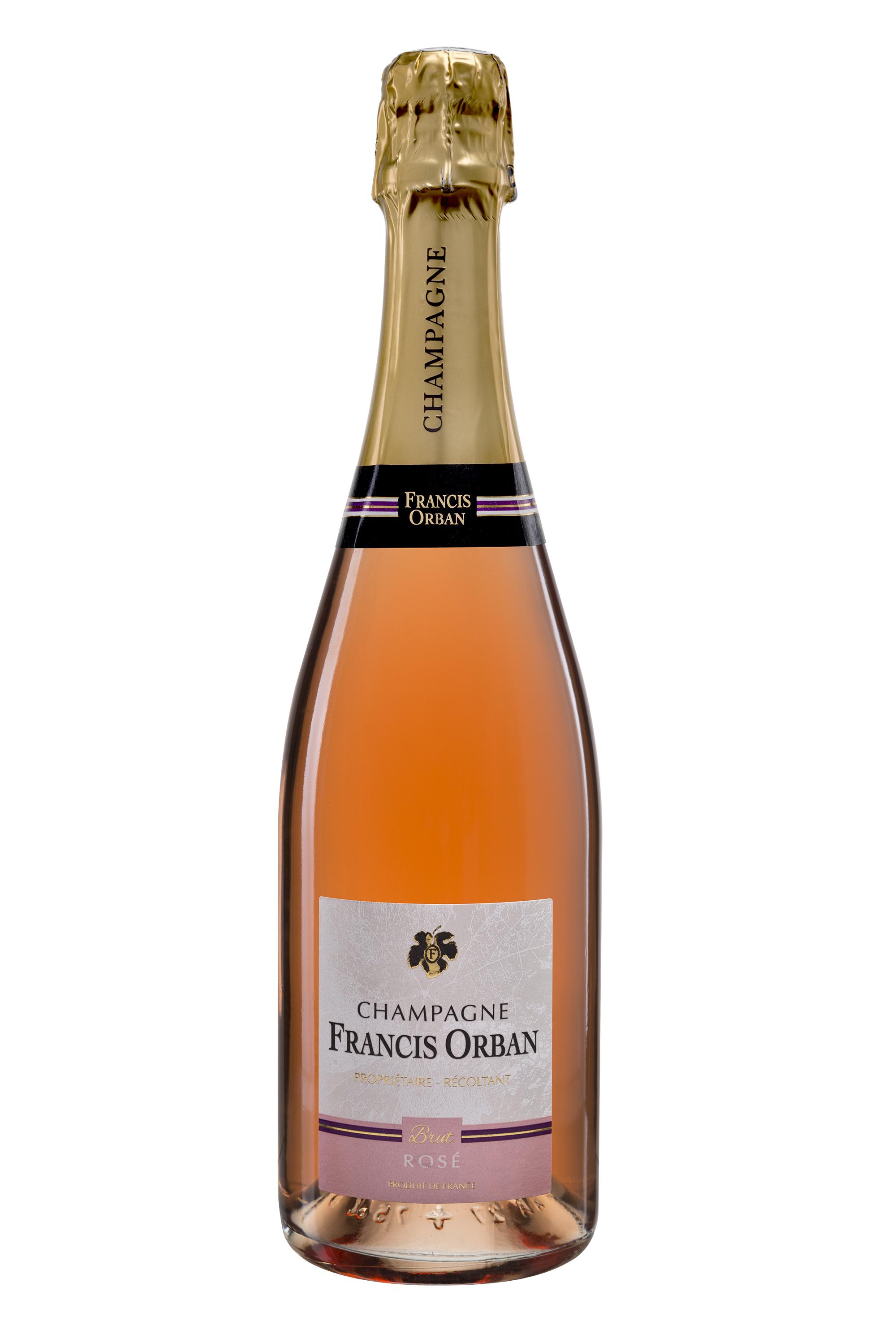 Champagne Francis Orban Brut Rosé