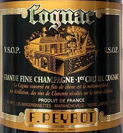 François Peyrot VSOP Cognac