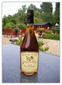 Kastanje likeur en Cognac François Peyrot