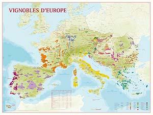 Benoît France Geografische Wijnkaarten