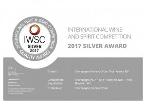 Brut Reserve Silver Iwsc 2017