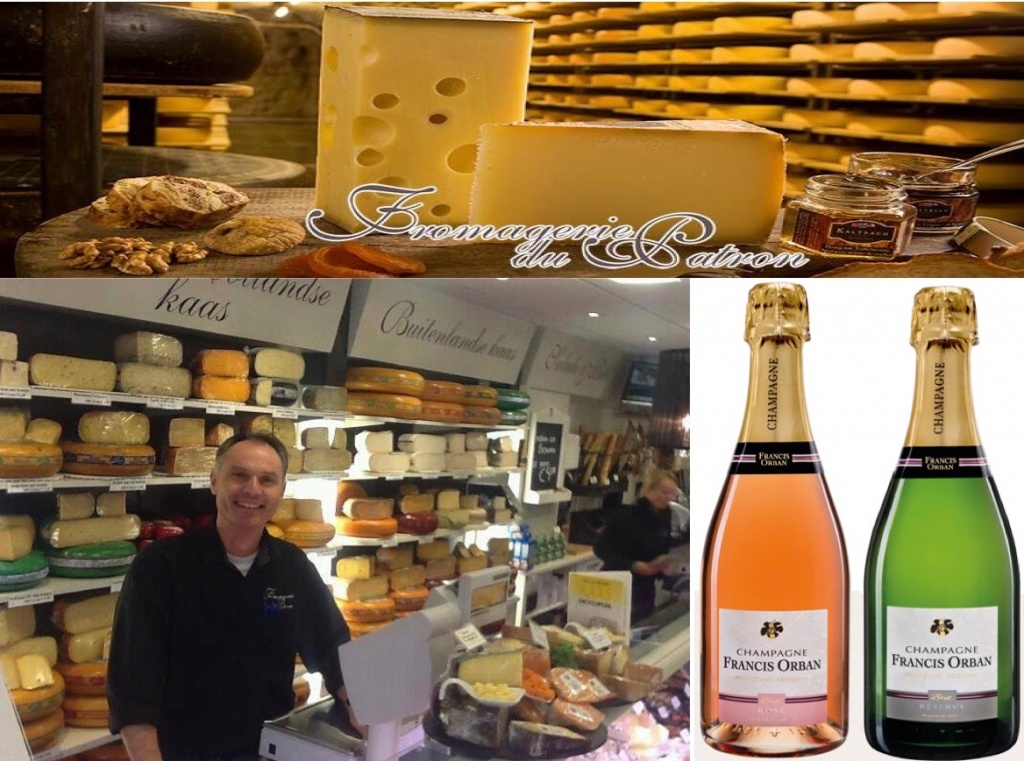 Fromagerie du Patron met bubbelrijke Champagne