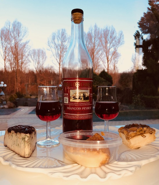 Kaasfestijn met Pin. des Charentes Rubis sur Merlot