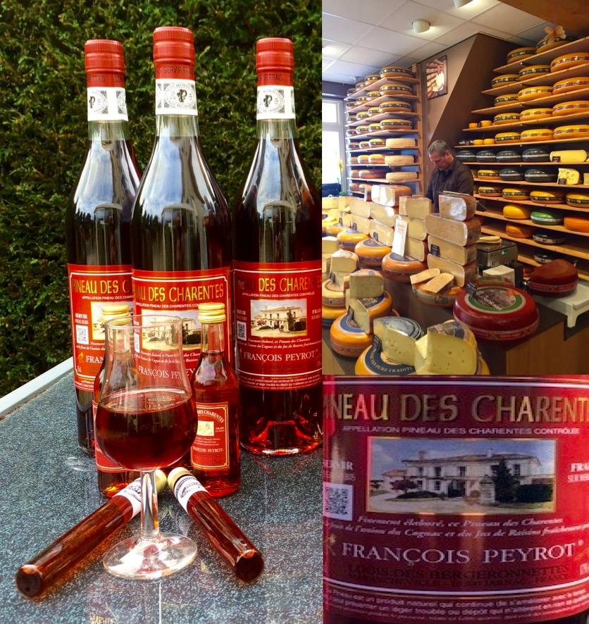 Merlot Oogst voor de Pineau des Charentes
