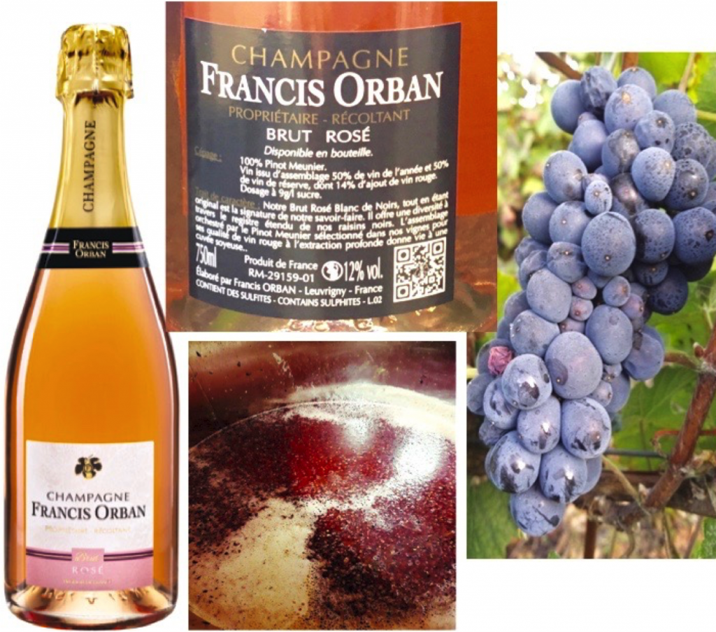 Champagne Trilogie Francis Orban