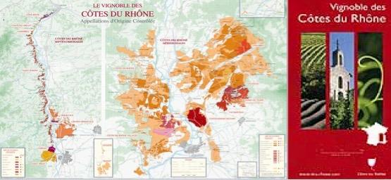 Vignobles de Cotes du Rhone