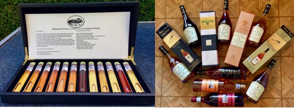 Tasting kist collectie Francois Peyrot