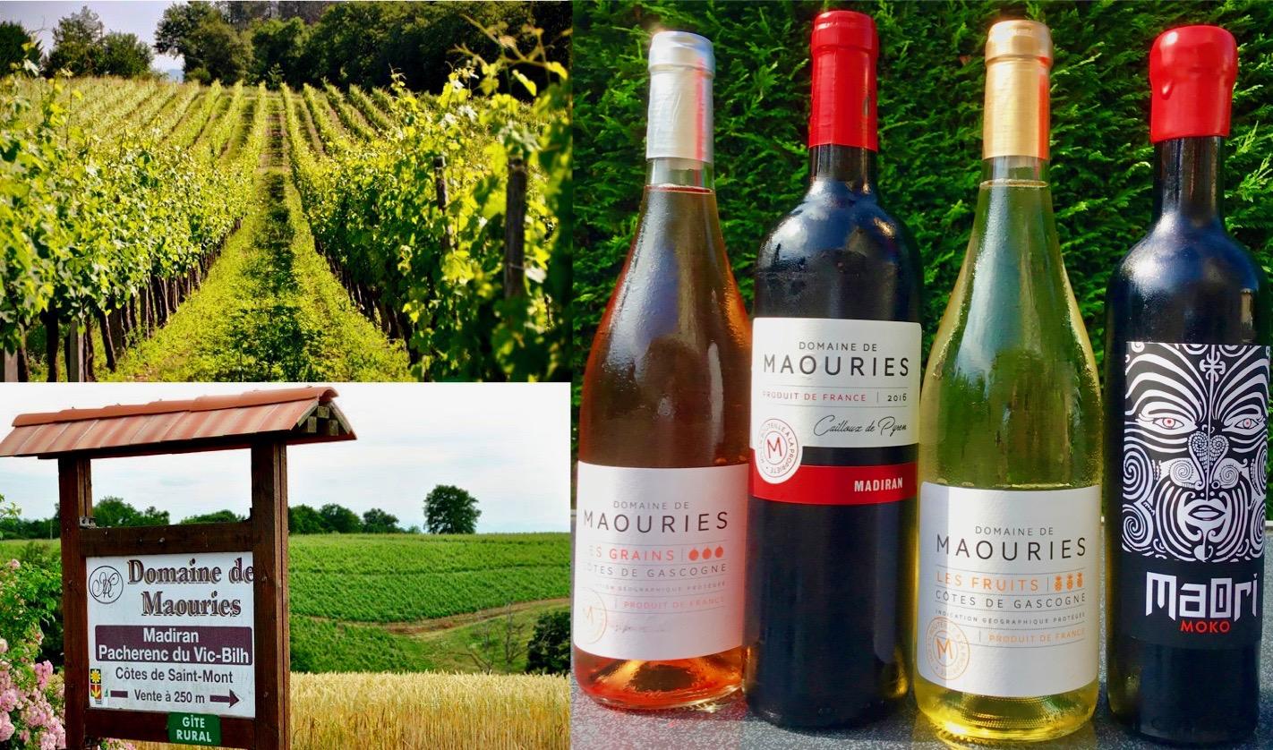 Gers wijnen van Domaine de Maouries
