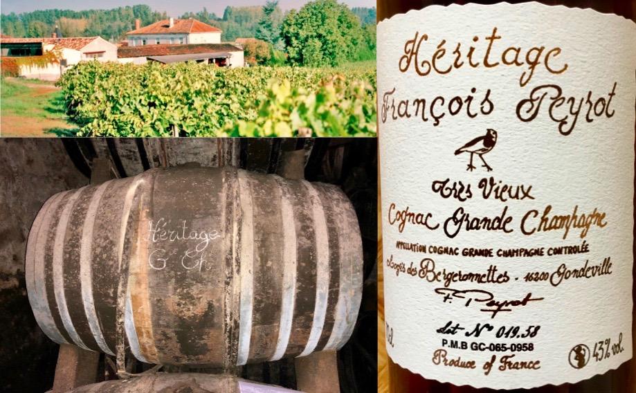 Heritage Cognac , pronkstuk van de familie Peyrot