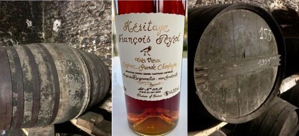 60 jaar oude Heritage Cognac François Peyrot