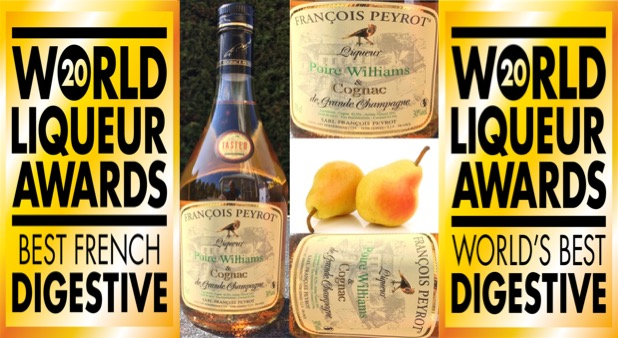 World Liqueur Awards 2020 voor Poire Williams & Cognac
