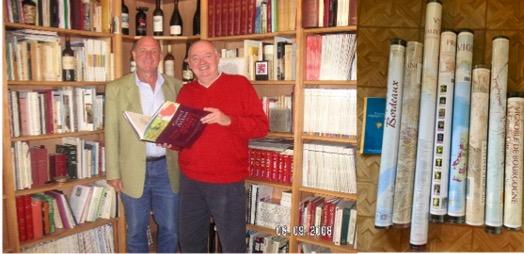 Ger en Benoit in Parijs 2008