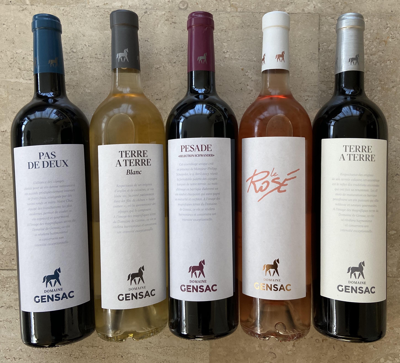 Avontuurlijke wijnen van Chateau Gensac