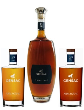 Armagnac , de ruwe Diamant van Chateau Gensac