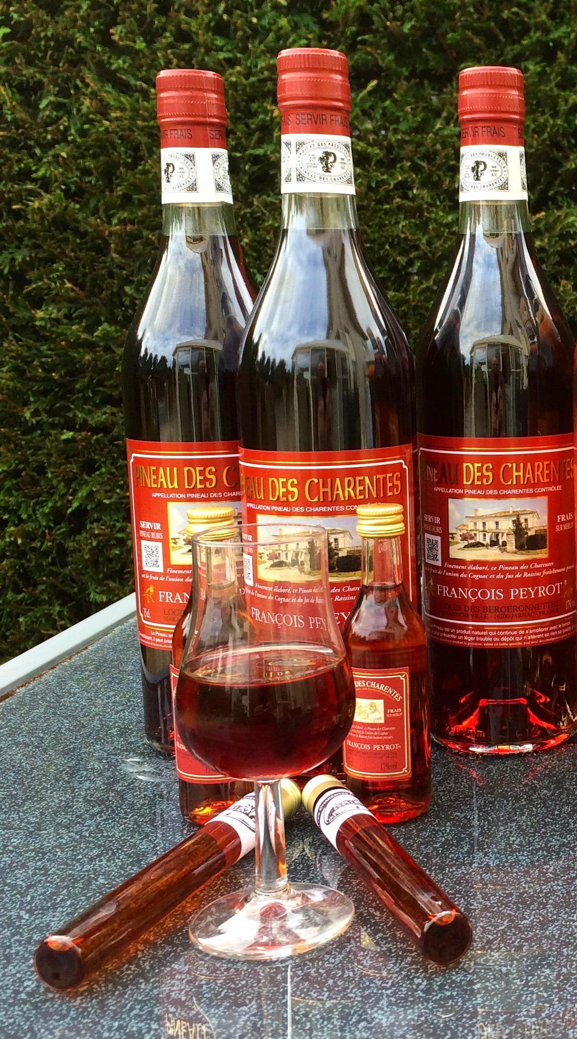 Pineau des Charentes Rubis sur Merlot