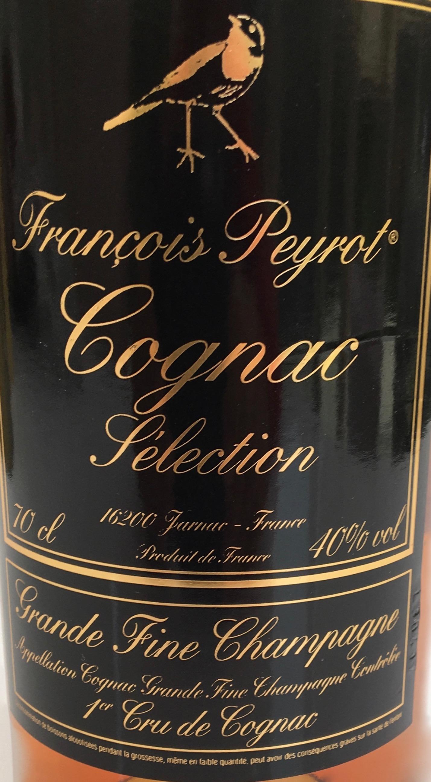 François Peyrot Sélection Cognac
