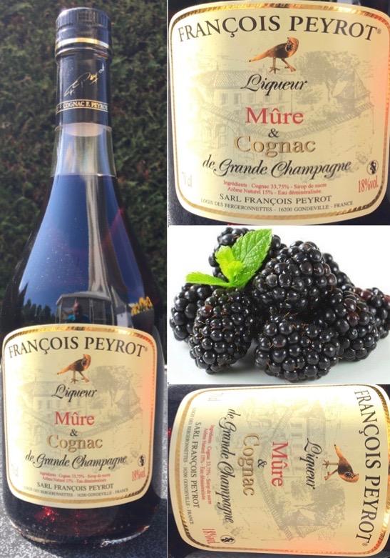 Bramen likeur en Cognac François Peyrot