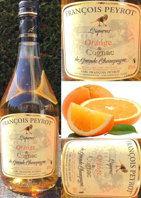 Sinaasappel likeur en Cognac François  Peyrot