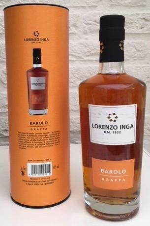Grappa Barolo Lorenzo Inga