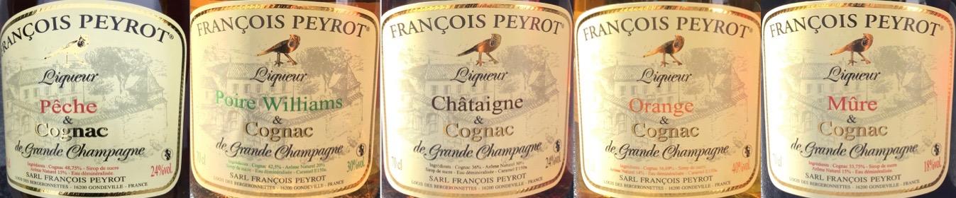 Likeuren van François Peyrot