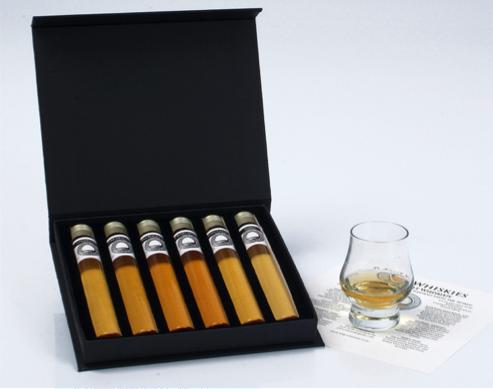 Proefdoosjes ontdekkingsreis in Whisky