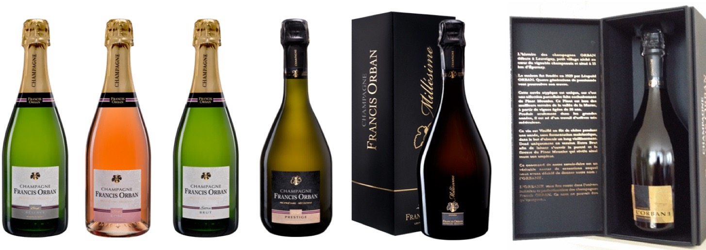 Collectie Champagne Francis Orban