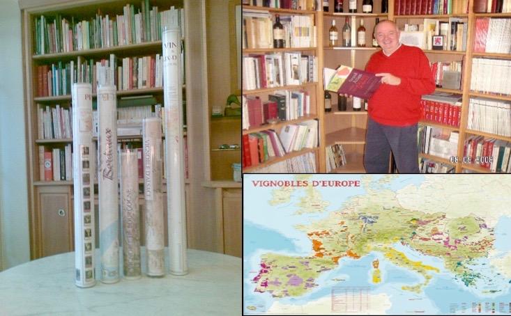 Aanbieding Geografische Wijnkaarten