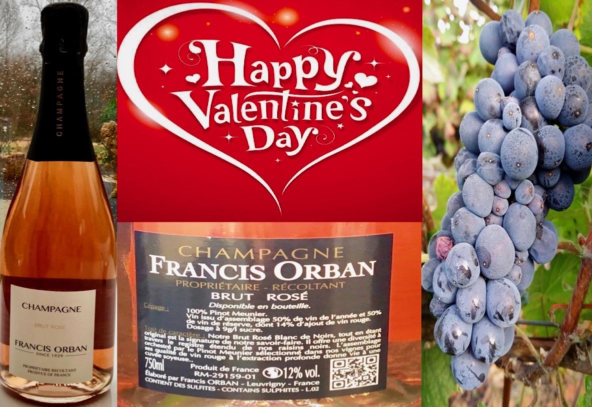 Pink Champagne Francis Orban voor Valentijnsdag