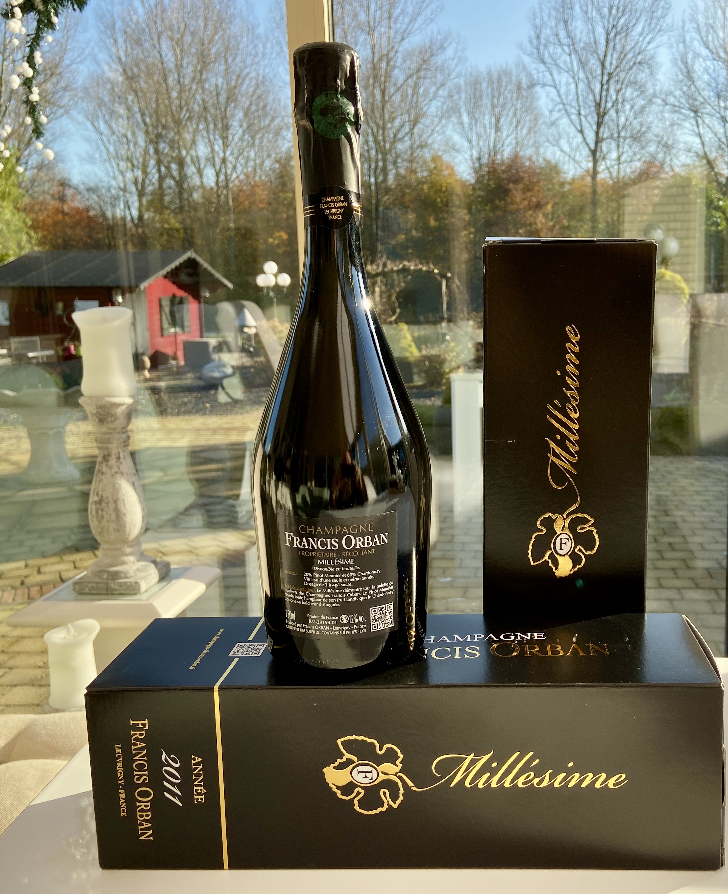 Onze December Special Champagne Francis Orban