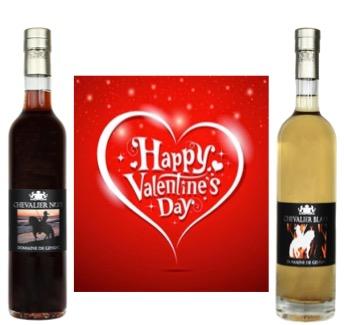 Happy Valentine's Day met de wijnlikeur